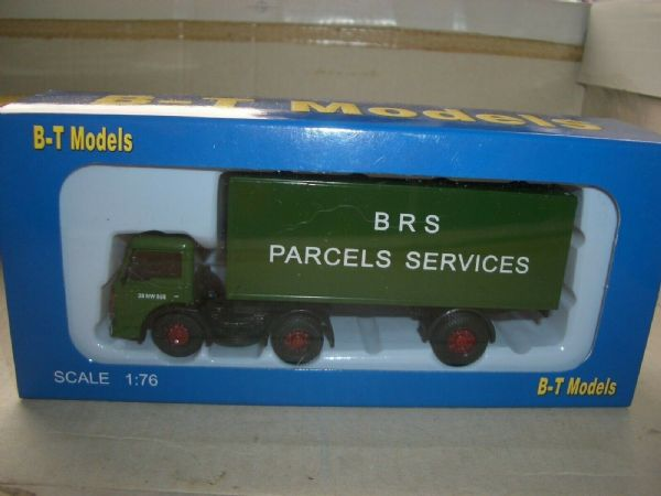 B T Models DA-34 DA34 Ford D Series Artic BRS British Road Services Parcels